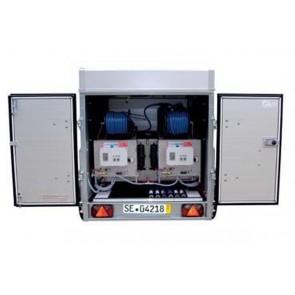 QLEEN Autark 600 (Einbausystem für Anhänger) zweifach