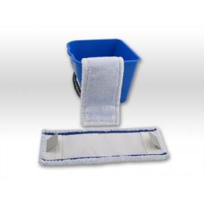 raue Fliesen / rutschfeste Beläge - spezial Microfaser Mopp 50cm Tasche Lasche