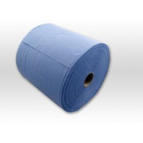 Putzpapier-Rolle 22cm 2 lagig blau 2 x 1000 Blatt 2 x Rollen