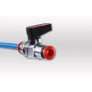 Kugelhahn für Teleskopstangen 6 mm Schlauch