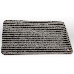 Ha-Ra Fußmatte Soft premium 90x200 schwarz eisgrau Läufer