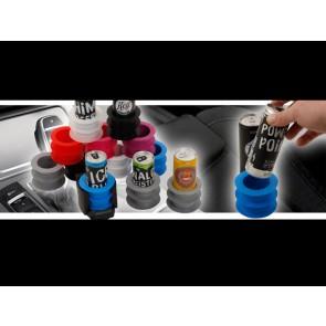 Portokiller: Gedofix Getränkedosen-Einsatz, damit Engerydosen nicht wackeln