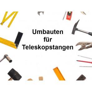 Umbauten Teleskopstangen Zweckentfremden und Lösungen
