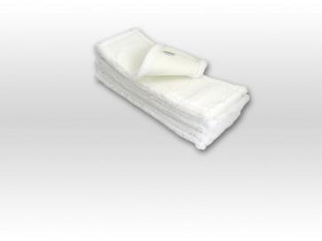 10mal 50cm Premium Microfaser Bezug langfloorig