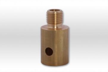 Adapter Teleskopstange auf 1/4 Gewinde für Wasserbürsten