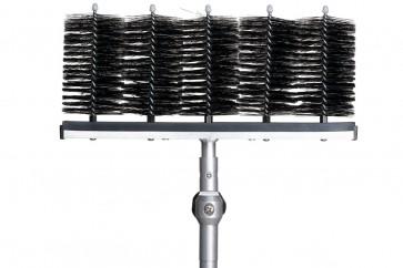Bürstenträger für Lamellenabstände von 80 mm