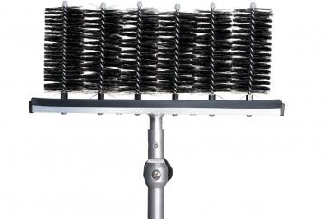 Bürstenträger für Lamellenabstände von 60 mm
