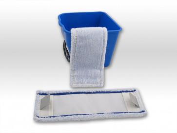 Wischmop raue Fliesen / rutschfeste Beläge - spezial Microfaser Mop 50cm Tasche Lasche