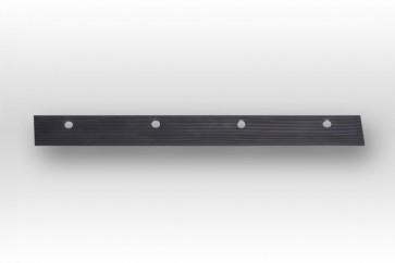 Gummilippe hart Schneeschieber Photovoltaik 80cm Alu