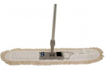 80cm EASY - Wischmop - System (Metallklapphalter-Profi-Komplett-Set)