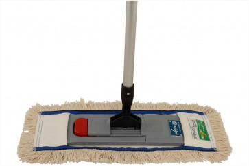 Bodenwischer 40cm Komplettset Magnetklapphalter steht von alleine für Bodenreinigung