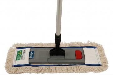 40cm 100% Baumwolle Parkett  Komplettset X-Professional Line (Profi-Komplett-Set) für Bodenreinigung