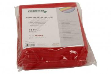10er Pack beschichtetes Meiko Feuchtwischtuch 35 x 40 gelb Reinigungstuch