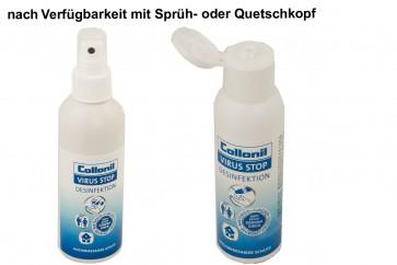Händedesinfektion - Desinfektion Virus Stop für Hände und Flächen auch gegen Corona Viren 100 ml