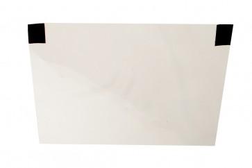 Gesichtsschutz Folie mit Klettverschluß für Stirnband oder Cappy Face Shield