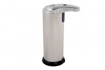 Elektrischer Spender kontaktlos batteriebetrieben für Desinfektionsmittel oder Flüssigseife 280 ml Fassungsvermögen
