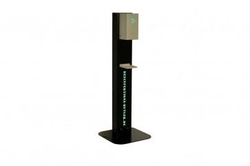 Desinfektions-Butler Desinfektionsgerät mit Sprachansage, Sensor, Füllstandsmessung - LED Signal +  WLAN und Bluetooth für Nachfüllinfo u.v.m