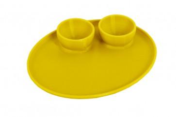 Frühstücksei Eierhalter für 2 Eier mit Tablett in Wunschfarbe