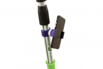 Handyhalterung  für Teleskopstangen Universalhalterung Smartphone, I-Phone, Bildschirm, GPS-Fahrradcomputer Handyhalterung
