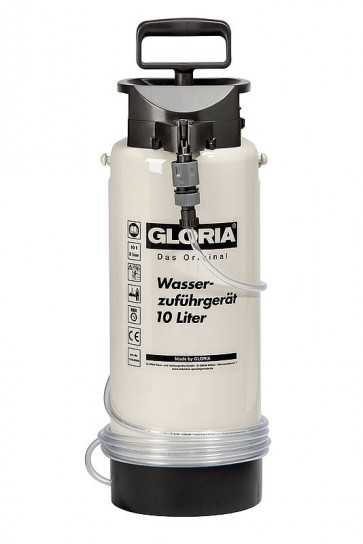 mobiles Wassersprühsystem Wasserzuführgerät Typ 10 3bar 10 L Kunststoffbehälter