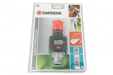 Gardena Wassermengenzähler Durchflussmessgerät für Mischbettharzflaschen