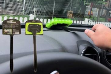 Windschutzscheiben-Wunder Mikrofaser Scheiben Reiniger mit Griff