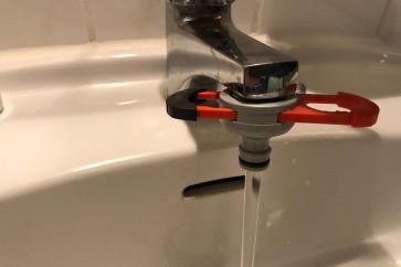 Gardena Adapter auf Wasserhahn Indoor / Badezimmer Wasserhahn
