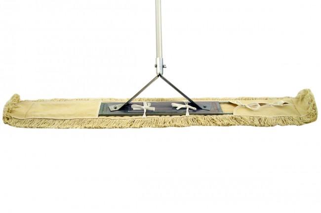 130cm wischmop system metallklapphalter profi komplett set starre ausf hrung wischmop shop. Black Bedroom Furniture Sets. Home Design Ideas