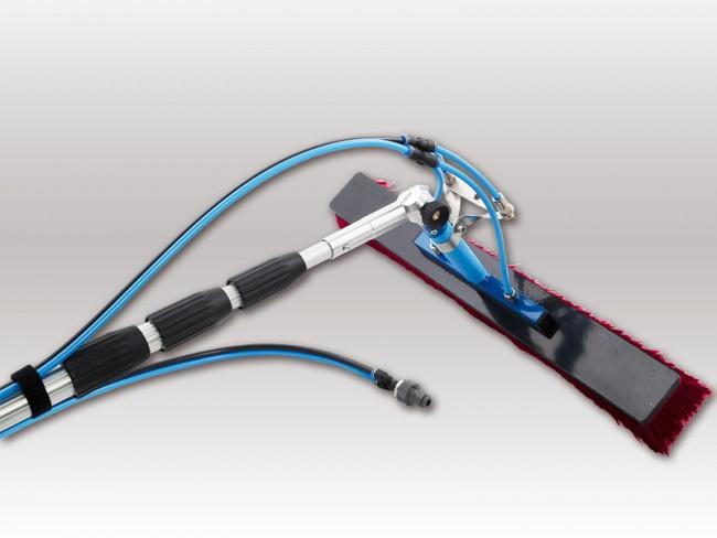 Photovoltaik reinigungsset meter mit fach düsen vario gelenk