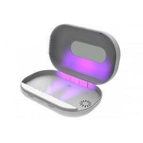 UV-C Desinfektionsgerät UV-C Sterilizer für Brille, Handy oder andere Kleinteile