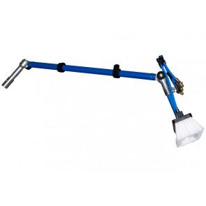 Bürstenbogen Spezial für Reinigung von Bushaltestellen und Überdachungen. 160 cm Länge