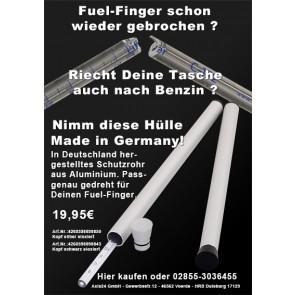 Fuel-Finger, Fuelhawk, Fuel-Gauge  Schutzrohr black