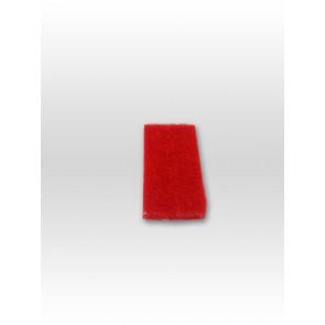 Pad rot hart für Padhalter reinigt Fliesen,Steinböden,Glas