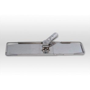 Edelstahl Metall-Klapphalter 40cm für alle PVC Klapphalter Bezüge superflach