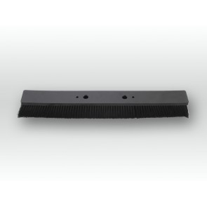 Viehzuchtbürste schwarz 40cm für Solarbürstenhalter / Puraqleen-Ersatzbürste schwarz 40 cm für Bürstenbogen