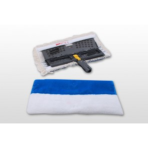 Vermop Twixter Twix Blue Borstenmop/Microfaserplüsch 40cm