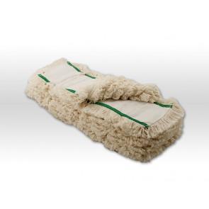 10mal 50cm Multi Mop 100% Baumwolle Parkett  Echtholzbodenmop
