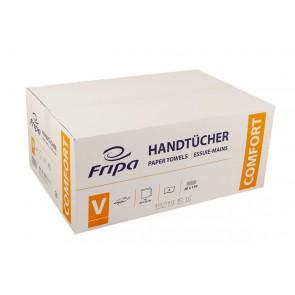 Papierhandtuch 25x23cm 2 lagig hochweiß V-Falz 3000 passend Tork