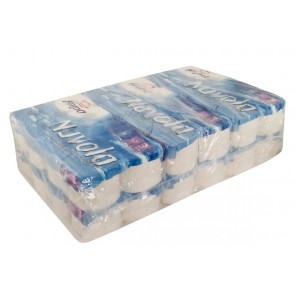 Toilettenpapier 250 Blatt weiß 3-lagig 250 Blatt 6 x 8 = 48Rolle