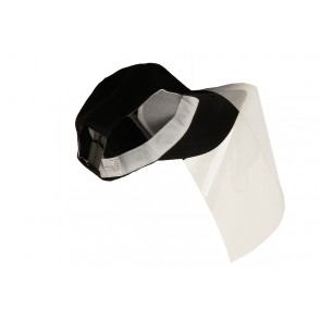 Cappy mit Klettverschluss für Gesichtsschutz-Folie  Face Shield