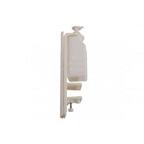 Pumpspender für Tisch und Wand - Desinfektionsspender mit Tischklemme auch für Seife 500 ml