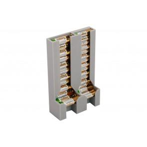 Batteriespender doppelt für AAA und AA Batterien