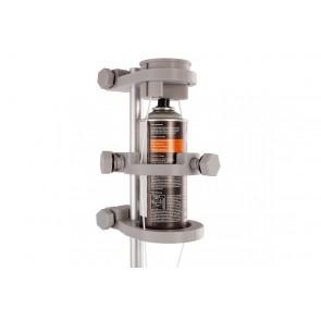 Sprühdosenhalter 2.0 für Teleskopstange mit Seilzug universal, Spraydosen wie Farbe, Gift, Öl, Rauchmelder Prüfgas etc