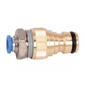 Anschluss 6mm Schlauch auf Wasseranschluss