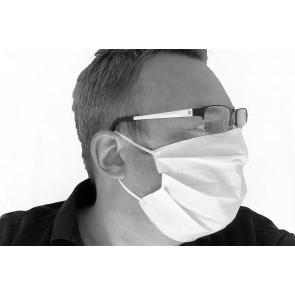 Mund- und Nasenmaske Gesichtsmaske 1 lagig 100 % Baumwolle waschbar  wiederverwendbar Made in EU mit Gummiband OEKO-TEX Standard 100 Zertifikat