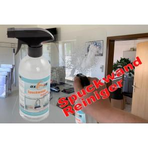 Spuckwand Reiniger mit Antibeschlag-/Statikformel für Acrylglas & Kunststoff 500ml  Axis Line