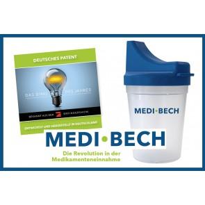 Medi-Bech Set Die Revolution in der Medikamenteneinnahme Tablettenbecher
