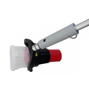 Adapter Solo Halter für Solo Prüfhaube, Melderpflücker,  Prüfhaube  für unsere Teleskopstangen bis 16 Meter