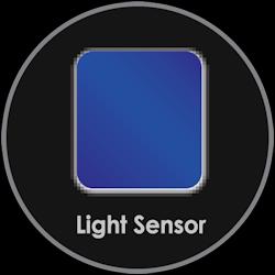 Lichtsensor für Automatik- und leisen Betrieb