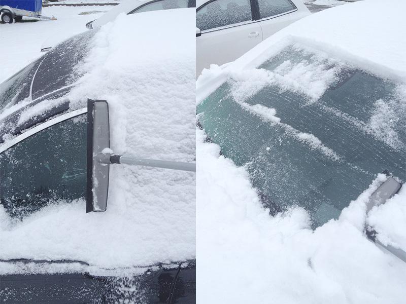 schneefegenauto